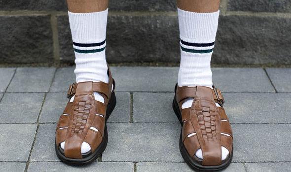 Socks and Sandles