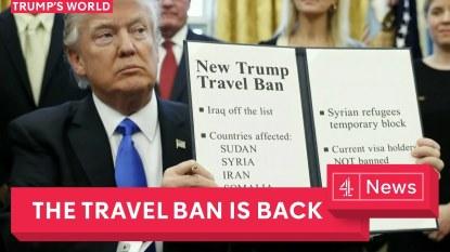 Travel ban image